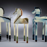 Ancient Voices/Modern Rhythms Opening – An Exhibition of the Glass Art of Michele Rubin